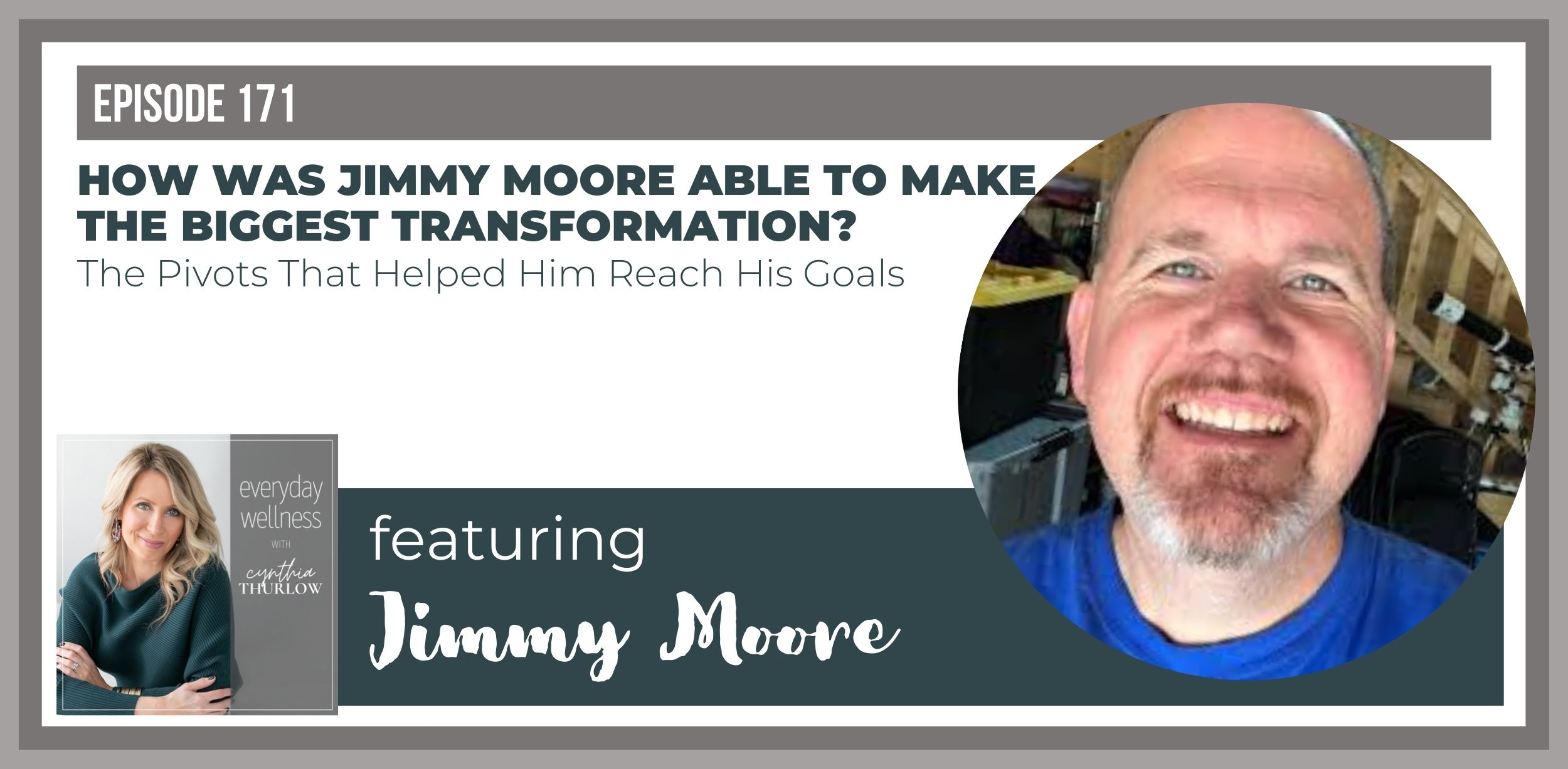 Jimmy Moore on Everyday Wellness Podcast with Cynthia Thurlow